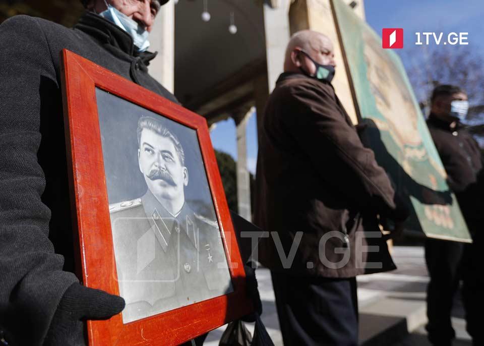 В Гори отметили день рождения Сталина (фото)