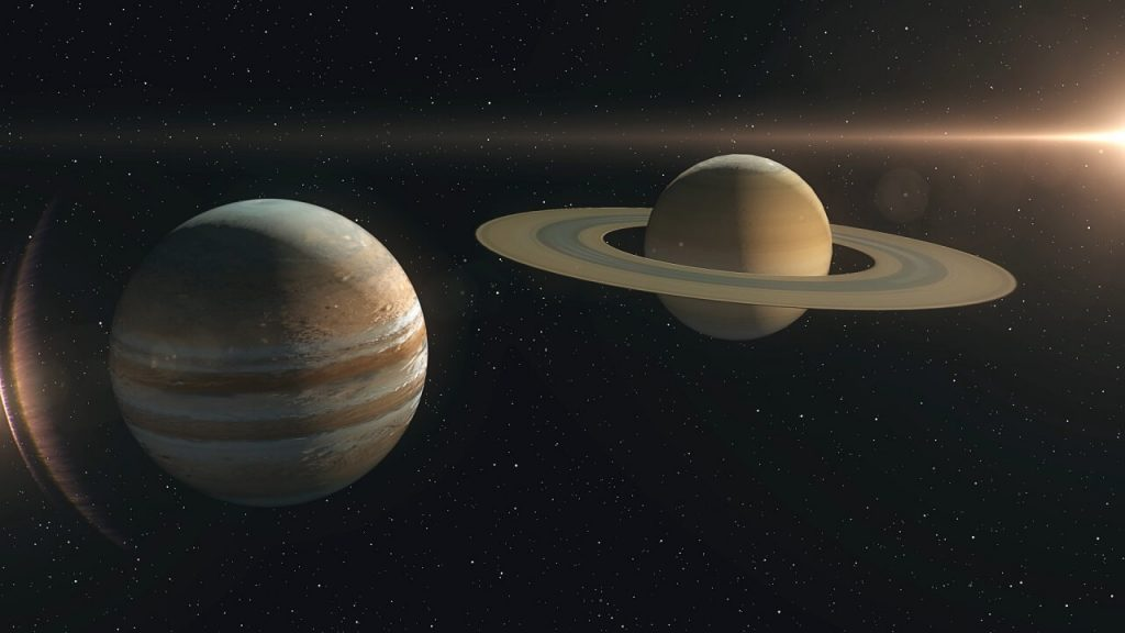 """თვალი ადევნეთ იუპიტერის და სატურნის """"შეერთებას"""" პირდაპირ ეთერში"""