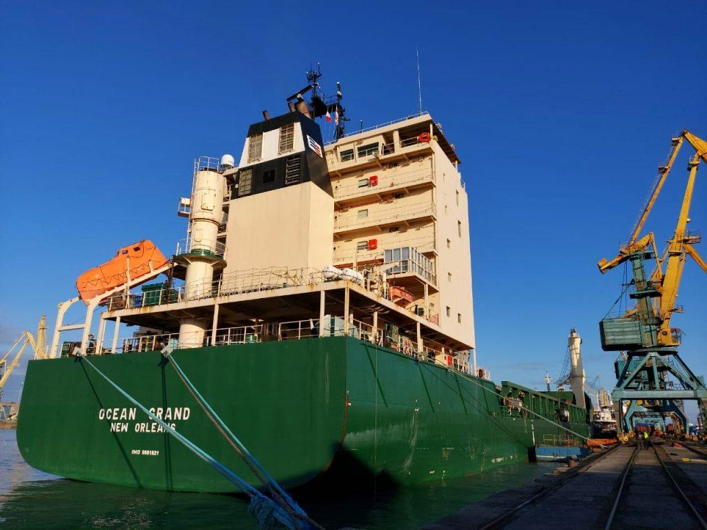 აშშ-ის სოფლის მეურნეობის დეპარტამენტის პროგრამის ფარგლებში, ფოთის პორტში გემით 14 000 ტონა ამერიკული ხორბალი შემოვიდა