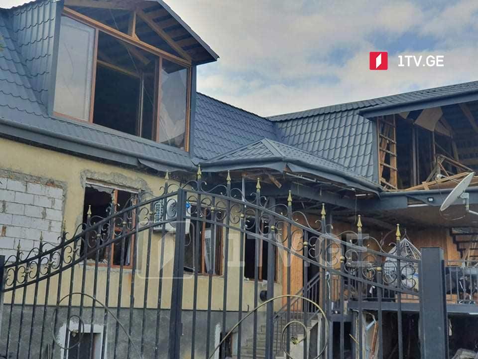 სოფელ ბოდბისხევში, საცხოვრებელ სახლში აფეთქების შედეგად ერთი ადამიანი დაშავდა