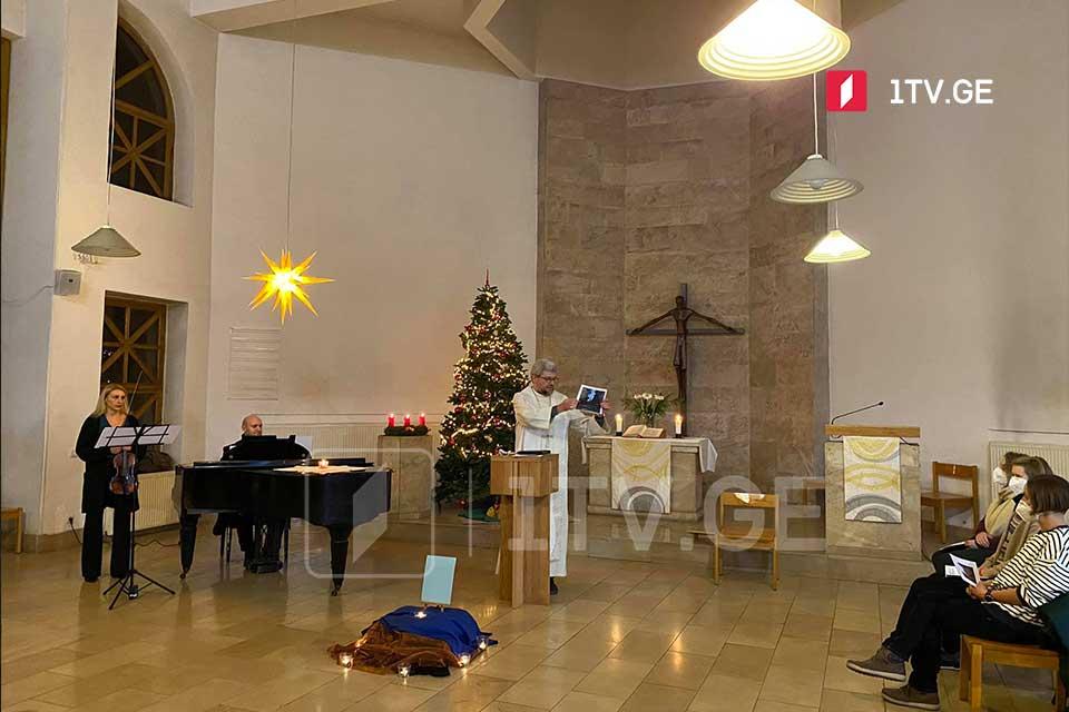 Evangelical-Lutheran Church in Georgia celebrates Christmas
