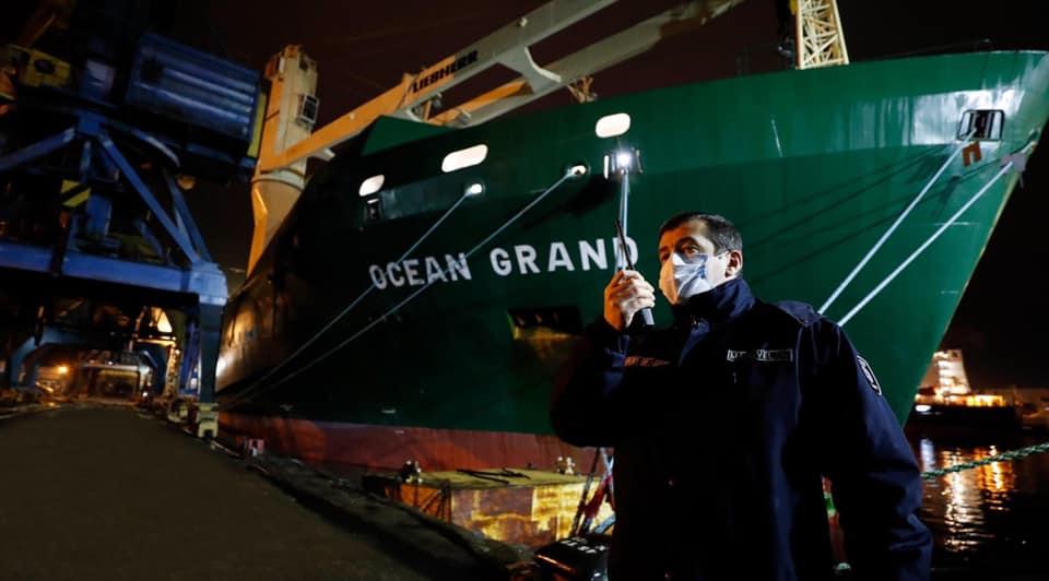 ფოთის პორტში აშშ-დან 14 000 ტონა ხორბლით დატვირთული გემი შემოვიდა