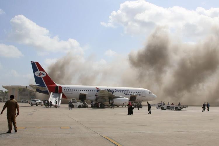იემენის აეროპორტში აფეთქების შედეგად დაღუპულთა რიცხვი 13-მდე გაიზარდა