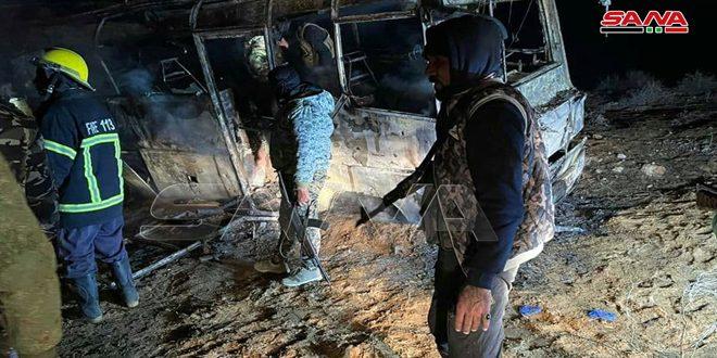 სირიაში ტერორისტულ თავდასხმას 25 ადამიანი ემსხვერპლა