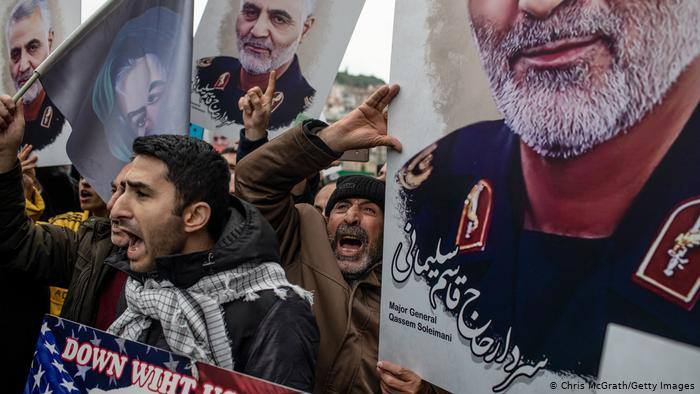 ირანი გენერალ ყასემ სოლეიმანის მკვლელობაში, აშშ-ის გარდა, ევროპისა და ახლო აღმოსავლეთის ქვეყნების ნაწილსაც ადანაშაულებს