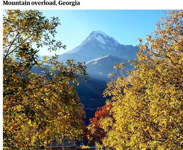 Georgia among 2021 dream destinations