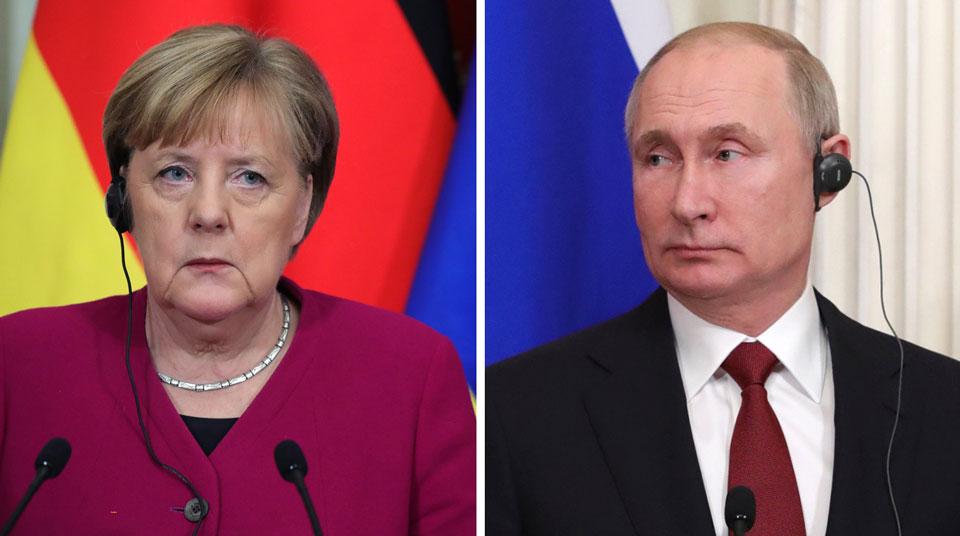 Ռուսաստանի նախագահի և Գերմանիայի կանցլերի միջև կայացել է հեռախոսազրույց