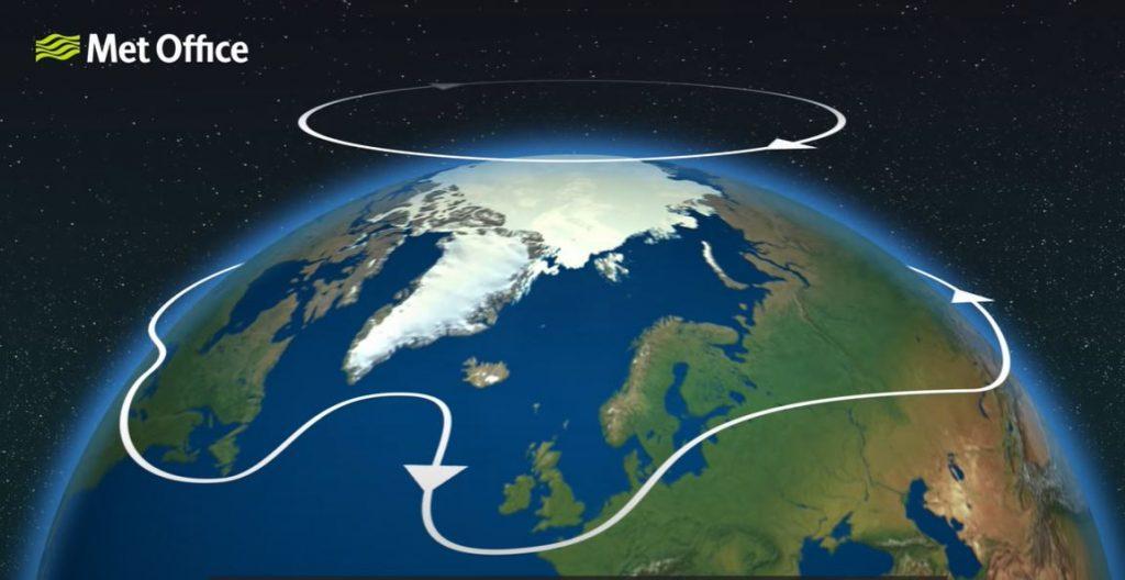 ჩრდილოეთ პოლუსთან მოსალოდნელია უეცარი სტრატოსფერული დათბობა, რასაც შეიძლება, ჩრდილოეთ ნახევარსფეროში ძლიერი სიცივე მოჰყვეს — #1tvმეცნიერება