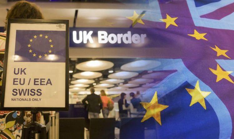 """მედიის ცნობით, ევროკავშირის მოქალაქეები დიდ ბრიტანეთში """"აიდი"""" ბარათებით შესვლას  ოქტომბრიდან ვეღარ შეძლებენ"""