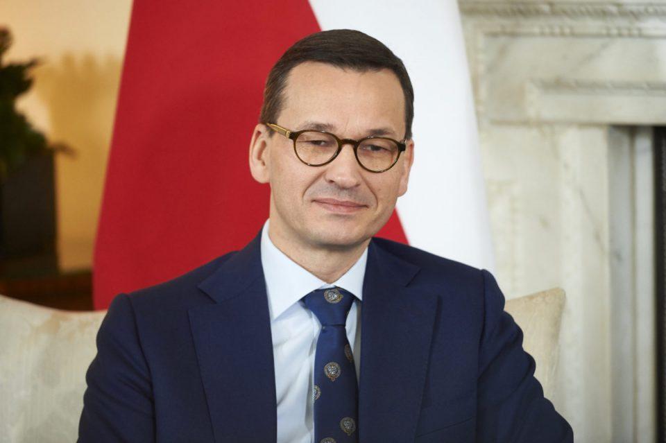 Польша Аҧыза-министр Матеуш Моравиецки Иракли Ҕарибашвили Ахьыҧшымра амш идиныҳәалеит