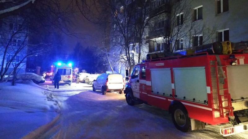 ეკატერინბურგში, ცხრასართულიან საცხოვრებელ სახლში ხანძარს რვა ადამიანი ემსხვერპლა