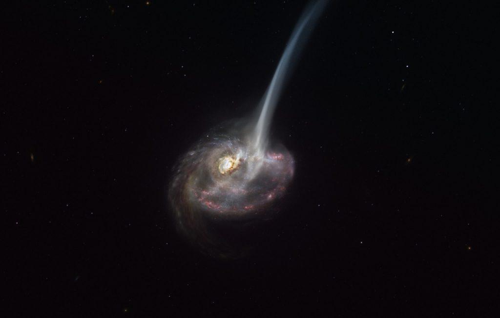 """ასტრონომებმა შორეული გალაქტიკის უეცარი """"სიკვდილის"""" მიზეზი გაარკვიეს — #1tvმეცნიერება"""