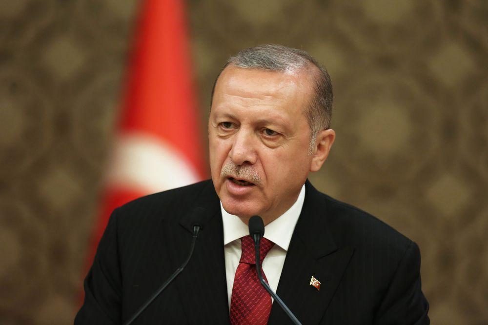 Реджеп Тайип Эрдоган - Стратегическое сотрудничество и дружеские отношения между нашими странами при Георгии Гахария будут продолжены и в будущем