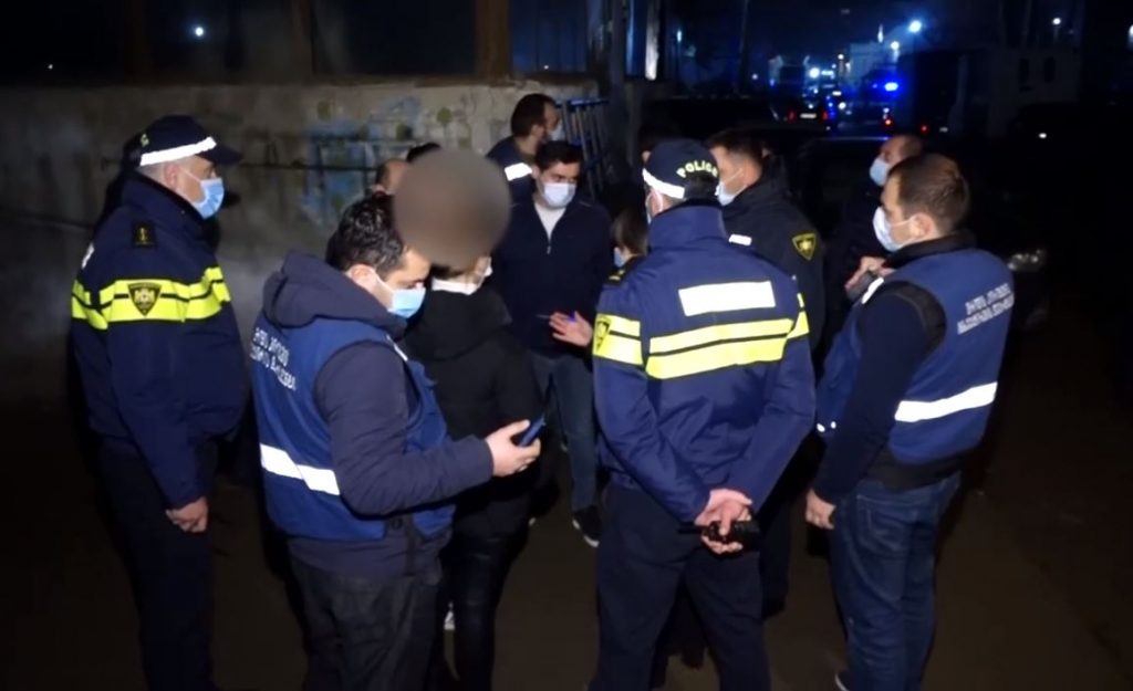 Инспекция труда приостановила работу одного из тбилисских ночных клубов