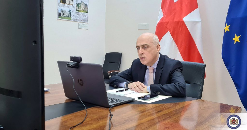David Zalkaliani - Ukrayna və Moldova Xarici İşlər nazirlərilə görüş Şərq Partnyorluğunun 2021-ci il sammitinə fokus edilmişdi