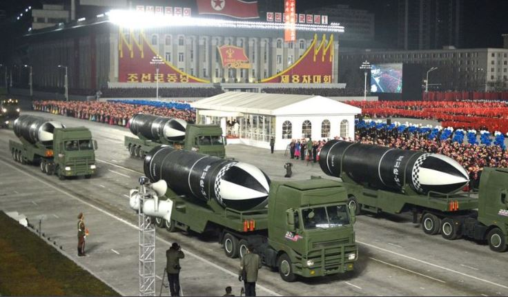 """""""ბიბისი"""" - ჩრდილოეთ კორეამ ახალი ტიპის ბალისტიკური რაკეტა წარადგინა"""