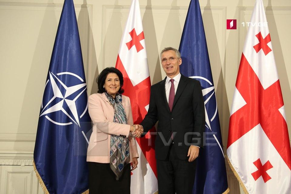 Встреча Йенса Столтенберг и Саломе Зурабишвили состоится в Брюсселе