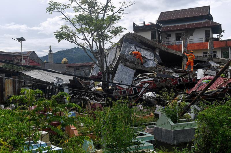 ინდონეზიაში მიწისძვრის შედეგად 56 ადამიანი დაიღუპა