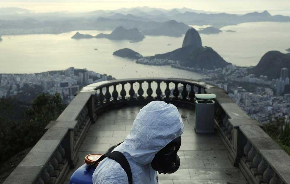 Braziliyada son bir gün ərzində koronavirus 61 567 insanda təsdiq olundu, 1 050 insan vəfat etdi