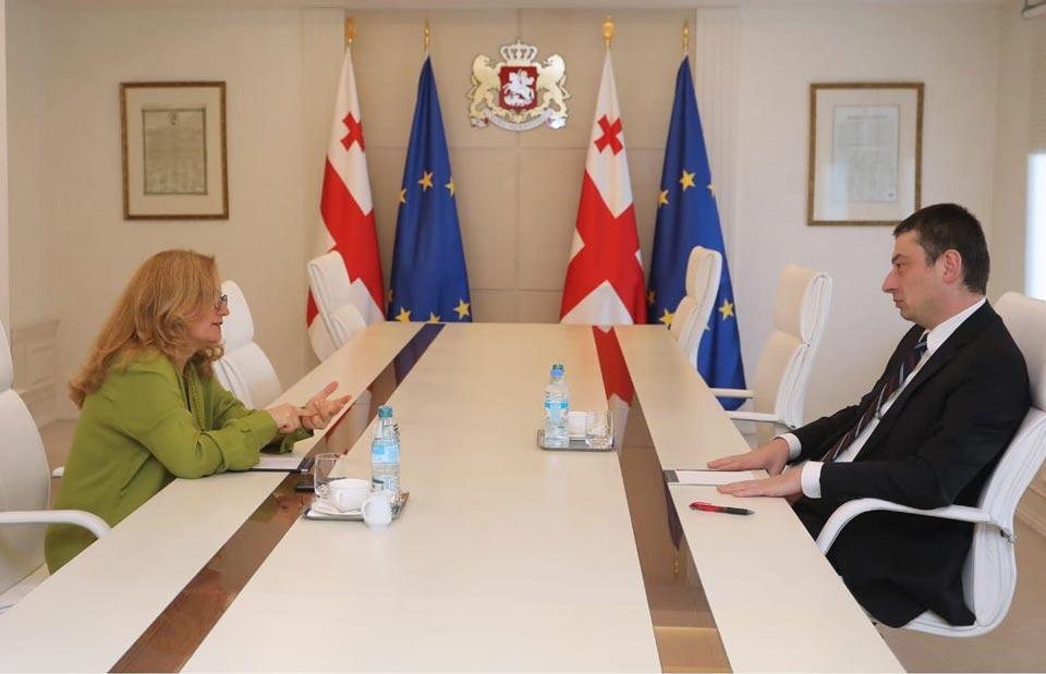 Georgian PM, Turkish Ambassador meet
