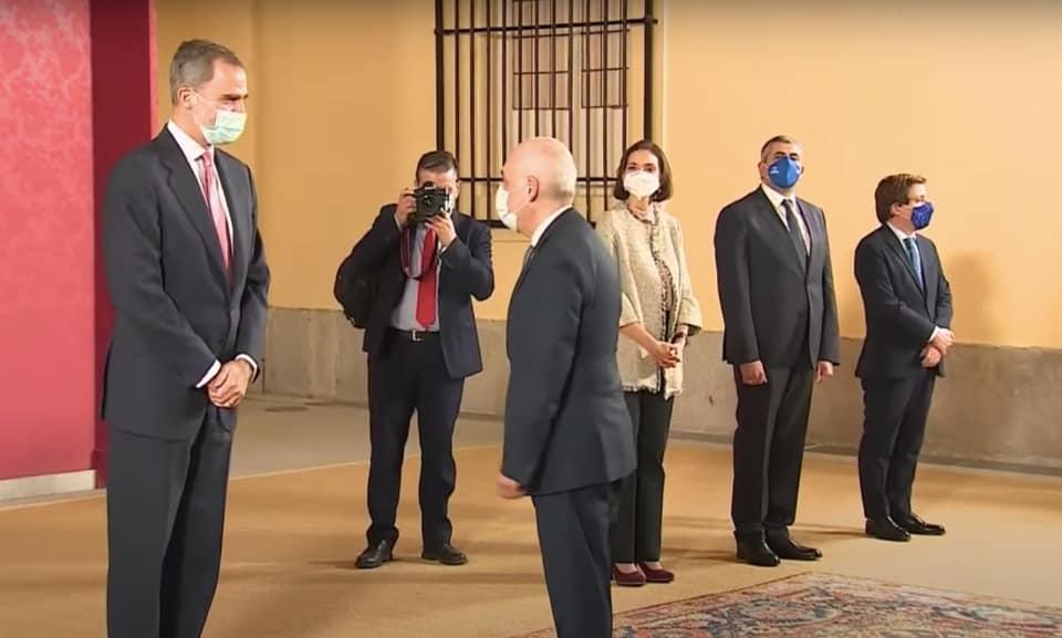 Georgian FM meets Spanish PM, King Felipe VI