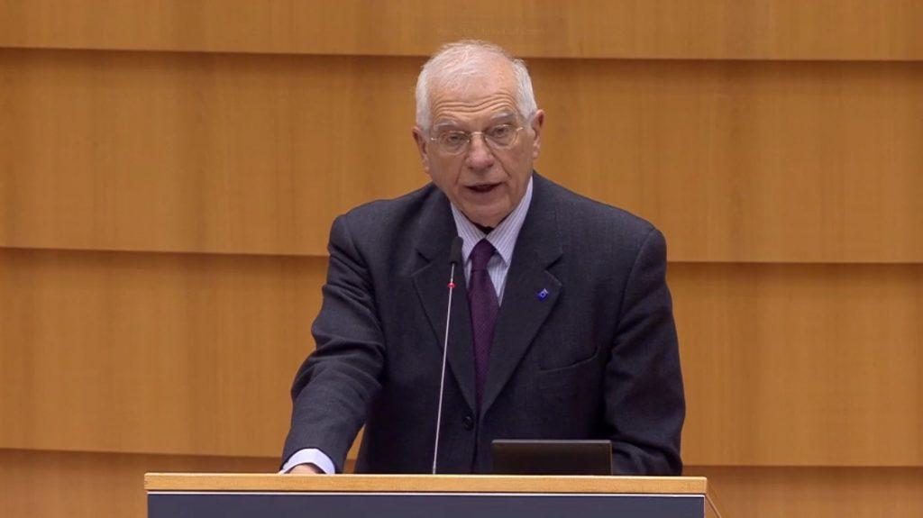 ჟოზეფ ბორელი - მოვუწოდებთ რუსეთის ხელისუფლებას, გაათავისუფლოს ალექსეი ნავალნი, ასევე, დაკავებული ჟურნალისტები და აქტივისტები