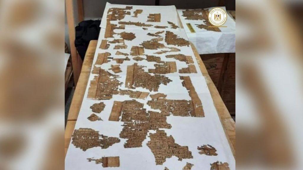 """ძველეგვიპტურ სამარხში პაპირუსის უზარმაზარ გრაგნილზე დაწერილი """"მიცვალებულთა წიგნი"""" აღმოაჩინეს — #1tvმეცნიერება"""