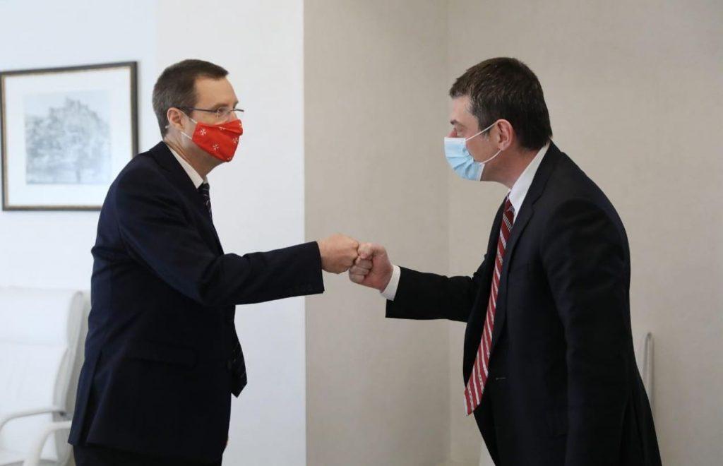 Georgian PM, Austrian Ambassador meet