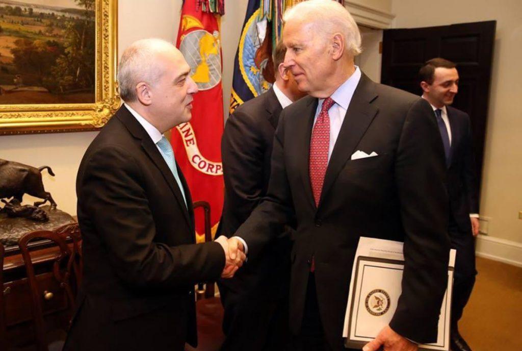 Georgian Foreign Minister congratulates Joe Biden on inauguration