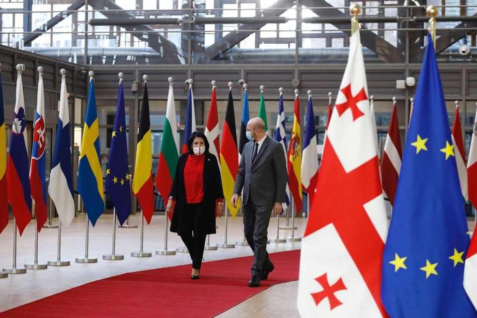 სალომე ზურაბიშვილი - ვაქცინაზე საქართველო ევროკავშირის მხრიდან სოლიდარულ გადაწყვეტილებას ელოდება
