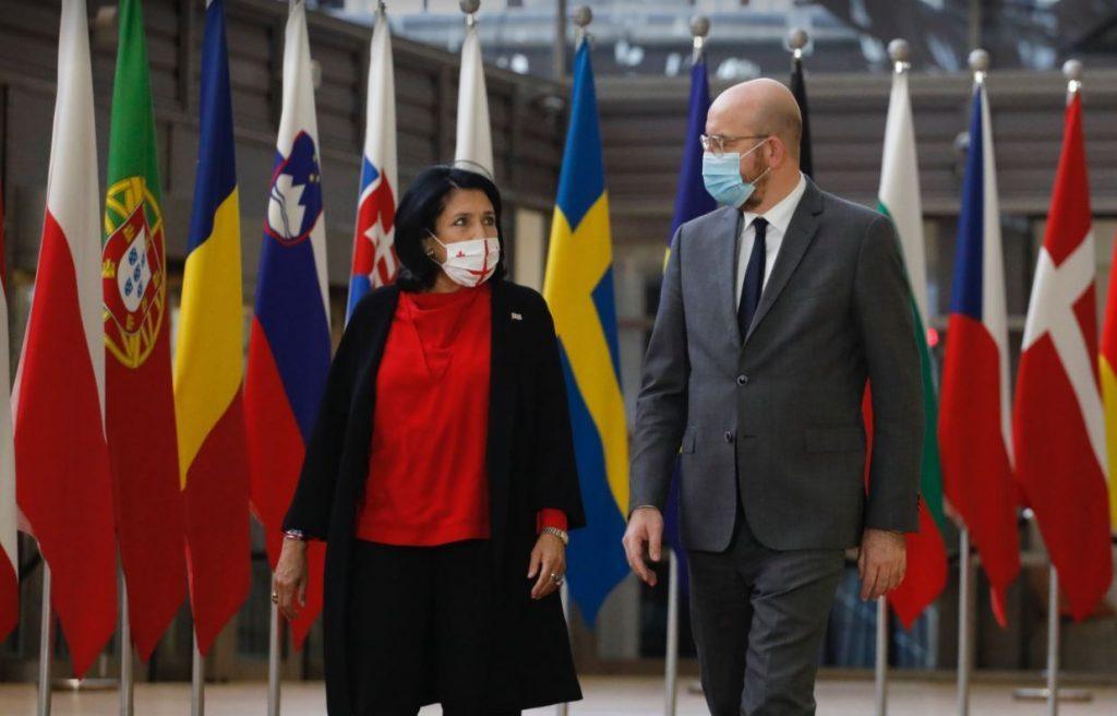 Şarl Mişel - pandemiya, onun dəf edilməsi və islahatların dərinləşdirilməsində Gürcüstana dəstəyimizi davam etdiririk