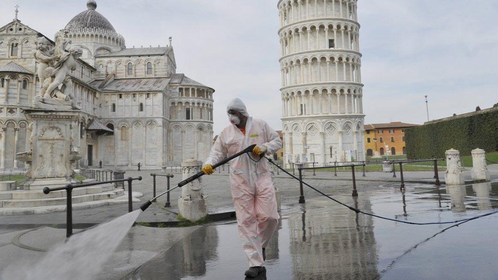 İtaliyada son 24 saat ərzində koronavirusun 14 078 yeni halı aşkar edildi, 521 insan vəfat etdi