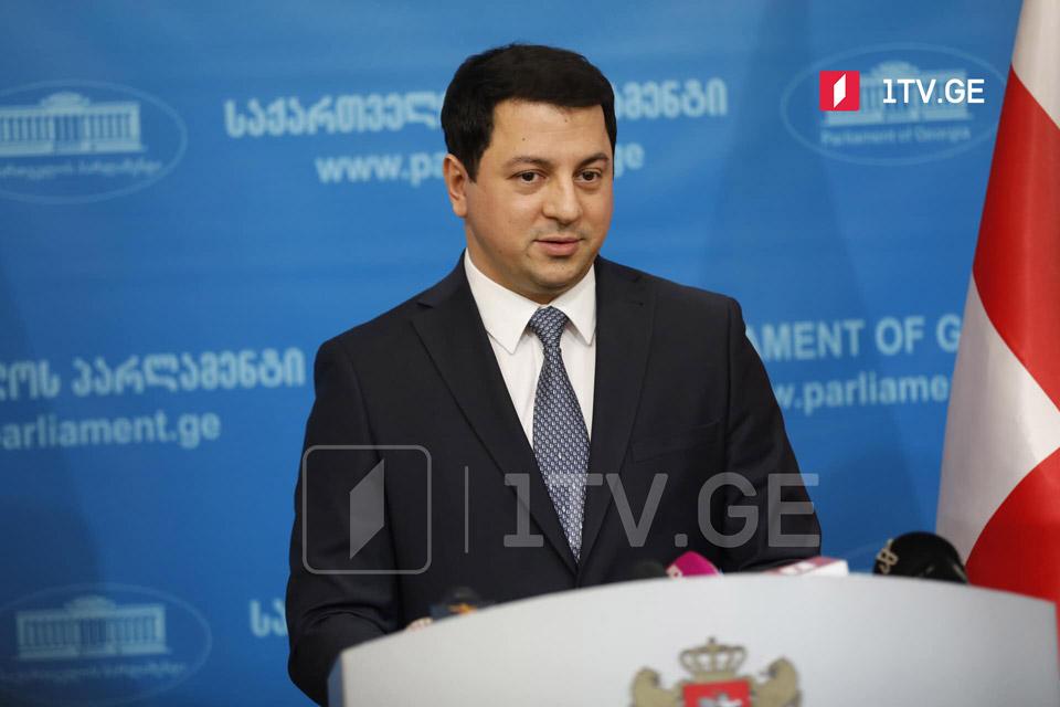 Председатель парламента не исключает, что в парламент войдет еще одна оппозиционная партия