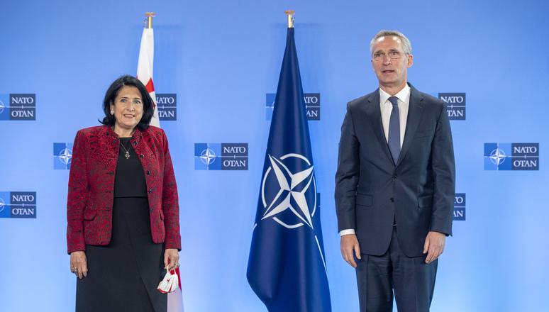 Саломе Зурабишвили - Грузия ценит поддержку  территориальной целостности и суверенитета со стороны партнеров