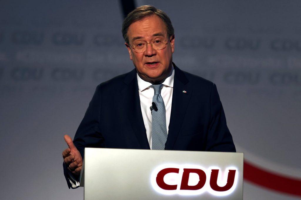 """გერმანიის """"ქრისტიან-დემოკრატიული კავშირის"""" თავმჯდომარედ არმინ ლაშეტი დაამტკიცეს"""