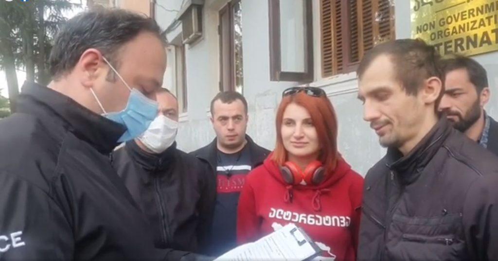 Police apprehend Alternative member for involvement in Batumi incident