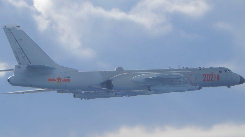 Թայվանը տեղեկացնում է Չինաստանի ռազմական ինքնաթիռների լայնածավալ ներխուժման մասին