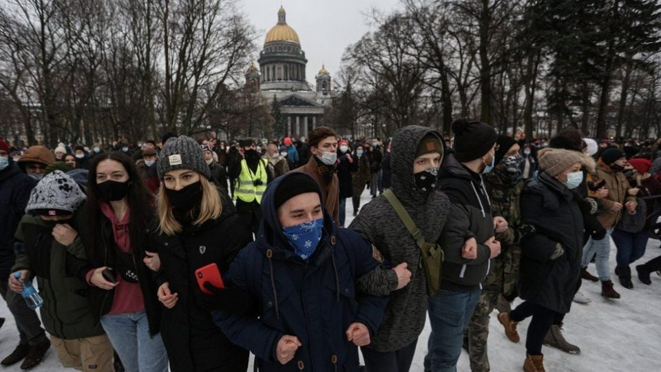 Ռուսաստանի իշխանությունները Ալեքսեյ Նավալնիի կապակցությամբ արևմտյան երկրներին մեղադրում են ցույցերը խրախուսելու մեջ