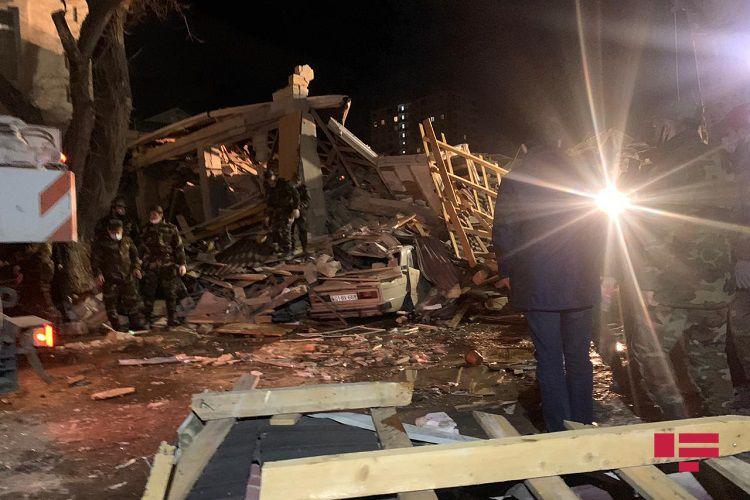 Բաքվում, բնակելի տանը պայթյունի հետևանքով տուժել է վեց մարդ