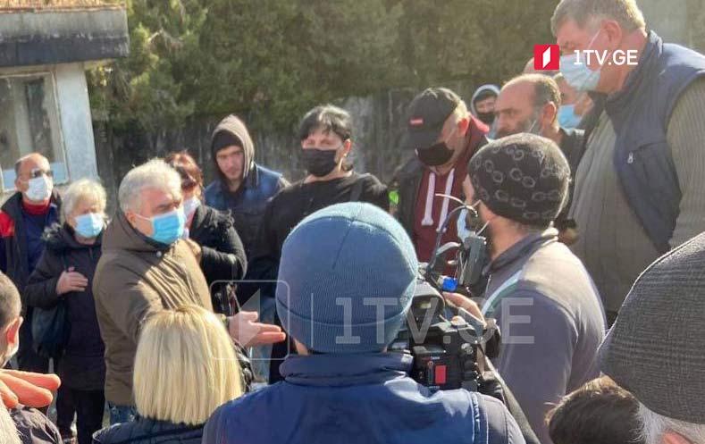 ოზურგეთში მოსახლეობა ალუმინის გადამამუშავებელი საწარმოს მშენებლობას აპროტესტებს