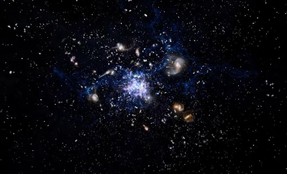 აღმოჩენილია ადრეული სამყაროს გალაქტიკათა დაბადების უზარმაზარი ადგილი — #1tvმეცნიერება