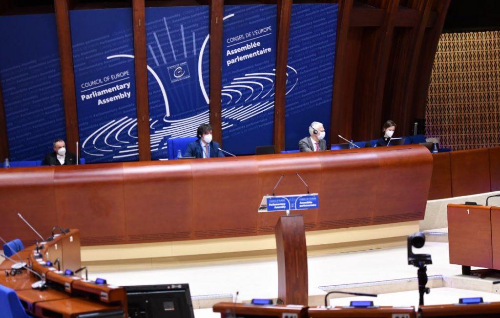 Եվրոպայի խորհրդի խորհրդարանական վեհաժողովի ձմեռային նստաշրջանի լիագումար նիստը վարում է Իրակլի Կոբախիձեն
