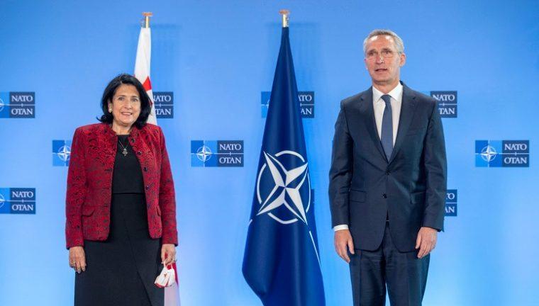 Саломе Зурабишвили - Грузия должна усилить свою роль маяка европейских ценностей на Кавказе