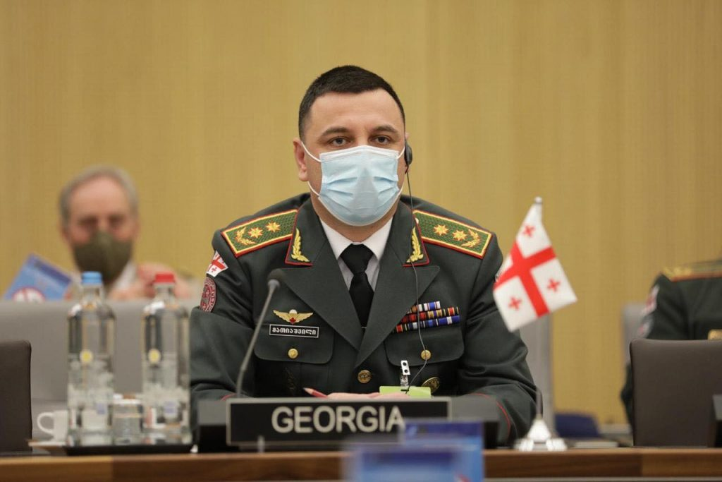Georgian Defense Forces Chief attends NATO Military Committee meeting
