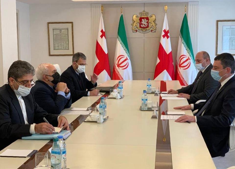 Мухаммад Джавад Зариф - На встрече в Тбилиси мы говорили о транзитном коридоре, соединяющем Черное море и Персидский залив