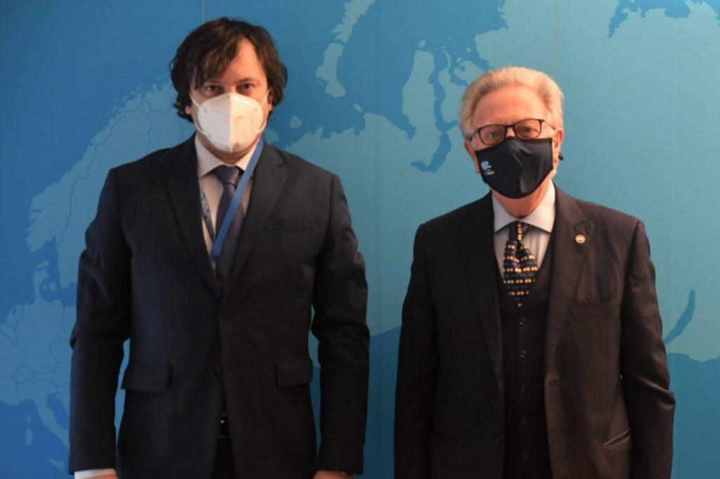 Վենետիկի հանձնաժողովի նախագահն ու հանձնաժողովի քարտուղարը հանդիպել են Եվրոպայի խորհրդի խորհրդարանական վեհաժողովում Վրաստանի պատվիրակության անդամներին