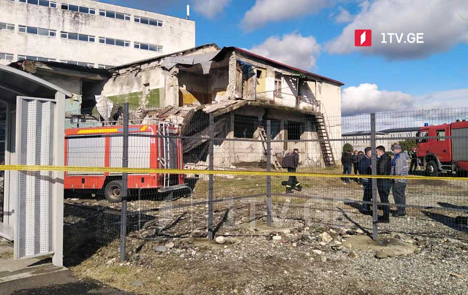 Old building collapses in Zugdidi