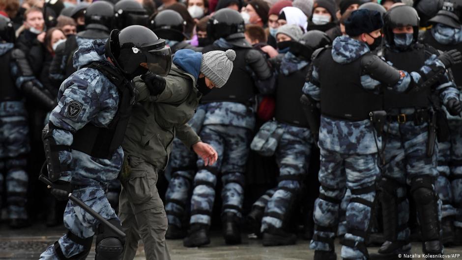 Ռուսաստանում Ալեքսեյ Նավալնիին սատարող ցույցերին ձերբակալվել է 4 027 մարդ