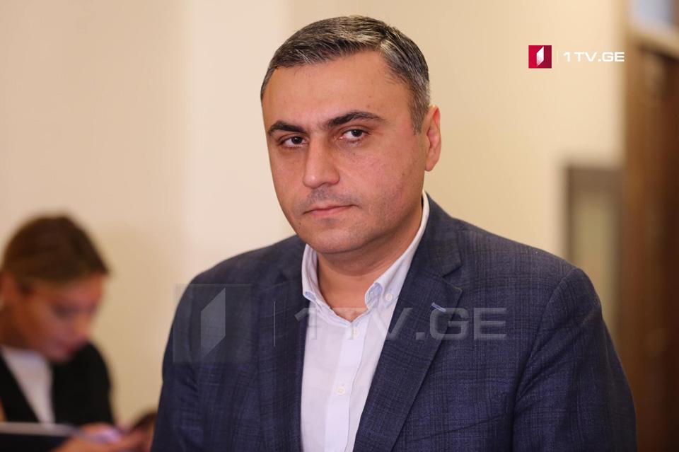 David Matikaşvili bəyan edir ki, deputat mandatının dayandırılması qərarı diskresiyalı qəbul olunacaq və məsləhətləşmələr də aparılacaq