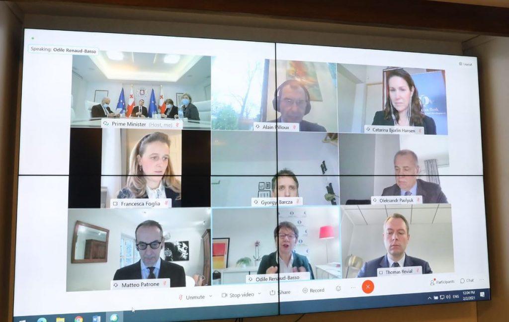 EBRD prepares five-year strategy to address Georgia's needs